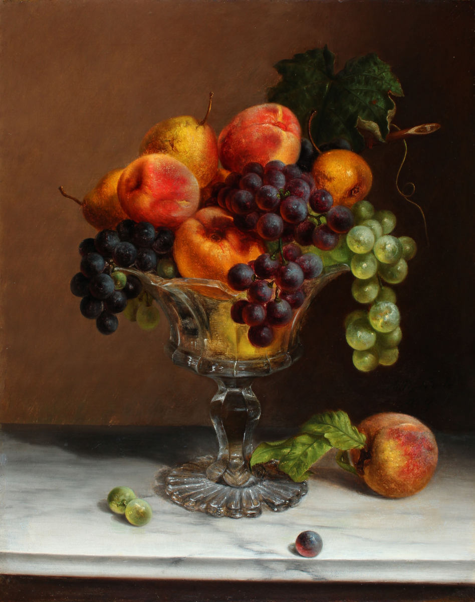 Still Life with Fruit, c. 1855-60