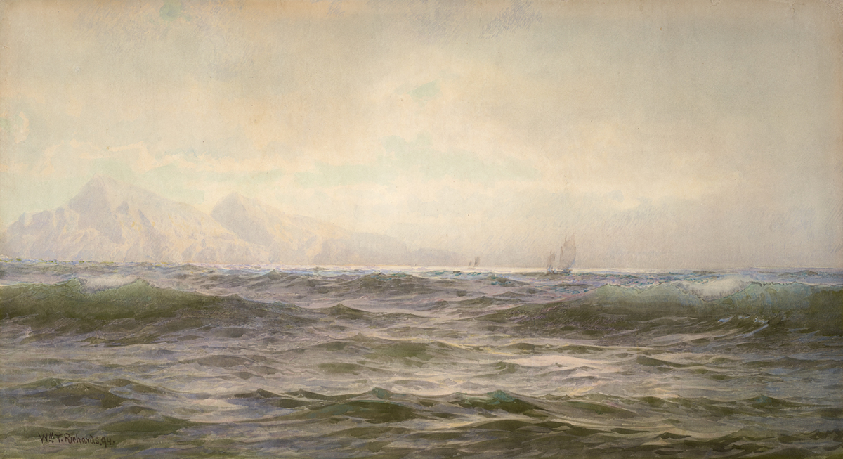 Off the Island of Arran, 1894