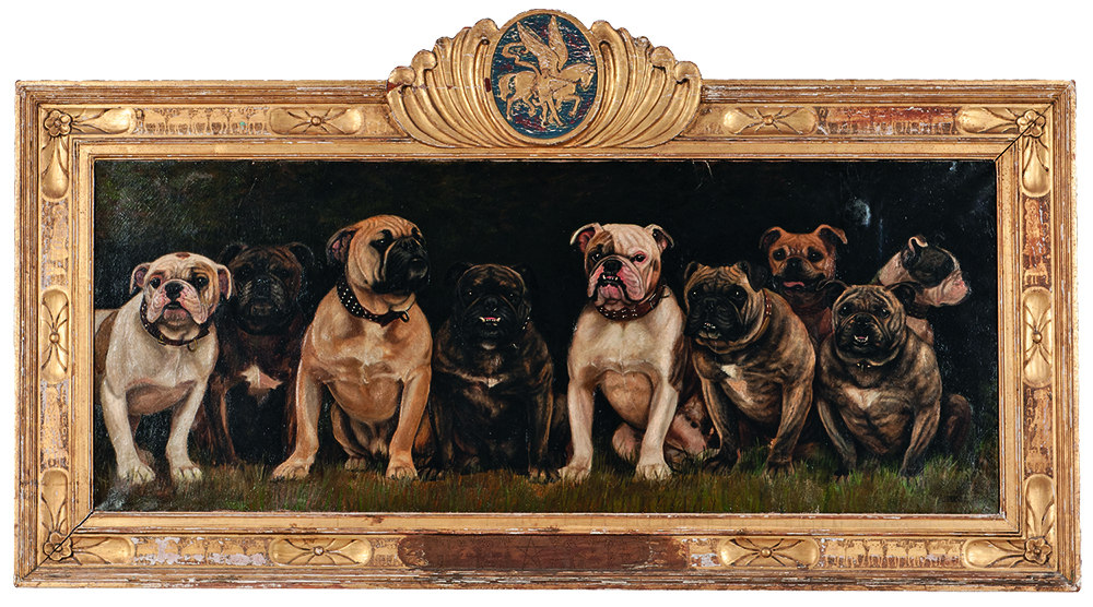 Blue Ribbon Winners at Lawson Kennels: Ivel Dublin Girl, Thackeray Soda, Fashion, Glen Monarch, Rodney Monarch, Duke of St. Martin, Rodney Duplicate, Kruger, and Isla Queen