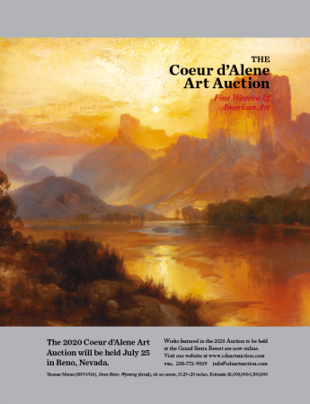 Couer d'Alene Art Auction