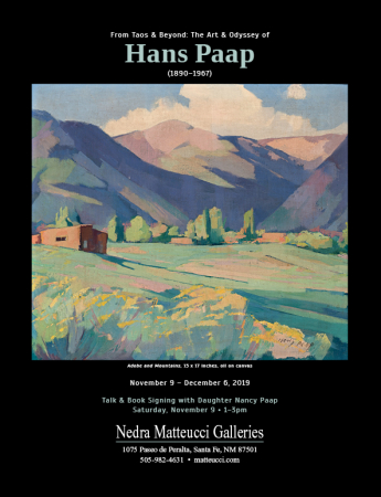 From Taos & Beyond: The Art & Odyssey of Hans Paap