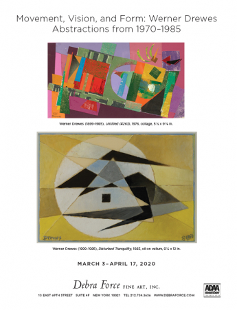 Movement, Vision, and Form: Werner Drewes Abstractions 1970-1985
